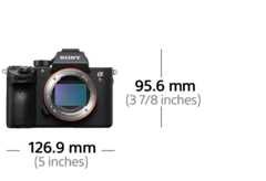 Afbeelding van α7R III 35 mm full-frame-camera met autofocus