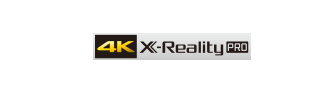Conversion ascendante en 4K X-Reality PRO