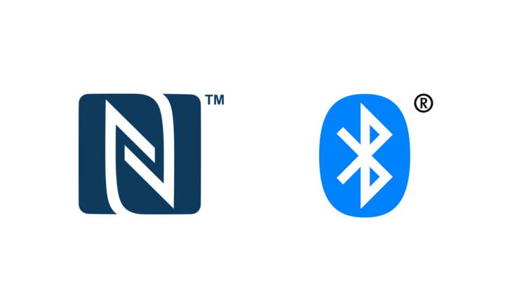 NFC- en BLUETOOTH®-logo