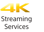 Pictogram 4K-streamingdiensten