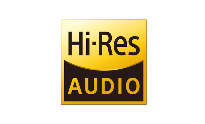 Hi-res audiologo