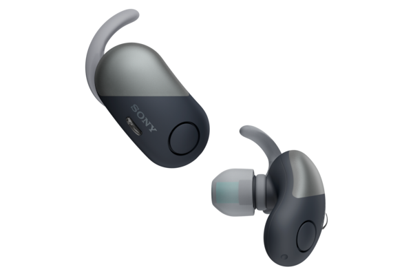 WF-SP700N met digitale Wireless Noise Cancelling en Omgevingsgeluidsmodus