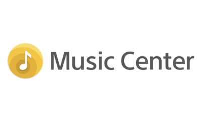 Logo voor Sony Music Center