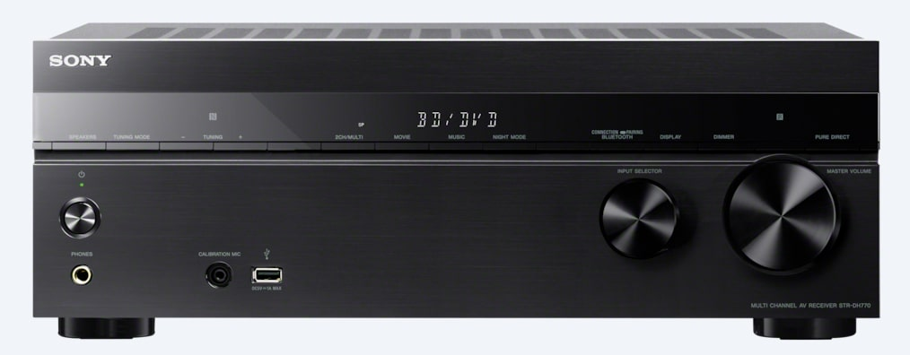Images de Ampli-tuner AV Home Cinema 7.2 canaux | STR-DH770