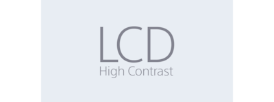 LCD High Contrast-pictogram