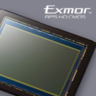 EXMOR® APS HD CMOS-sensor met 24,3 MP