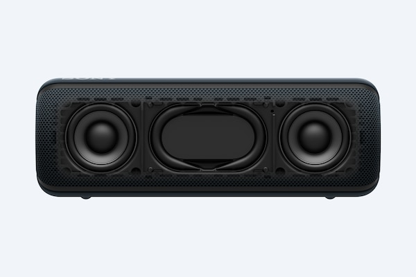 Unit met twee speakers van 48 mm