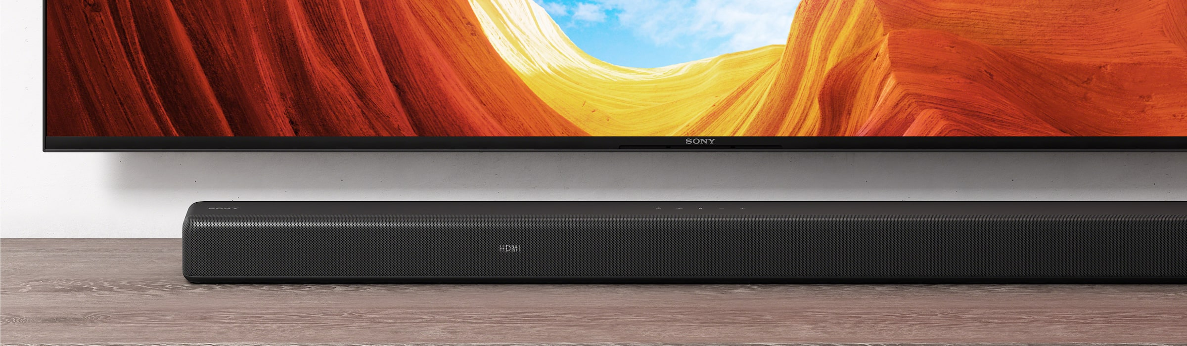 HT-G700 Soundbar met Sony Bravia-tv