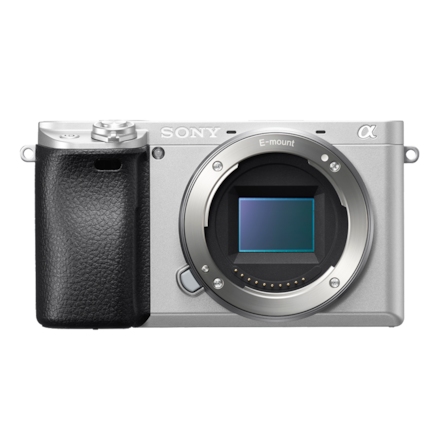 Afbeelding van α6300-camera met E-bevestiging en APS-C-sensor